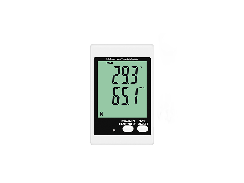 DWL-20 temperature humidity data logger with sound light alarm