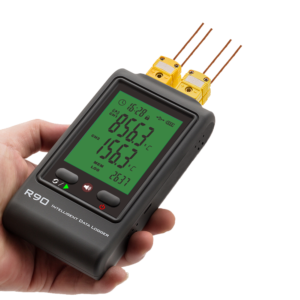 R90-FC-U 4-channel thermocouple data logger