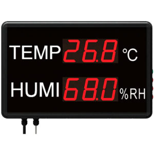 STR823 large display temperature humidity