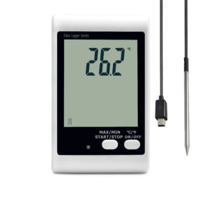 DWL-10E temperature logger with external probe cold room