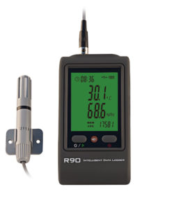 R90EX-U temperature humidity logger