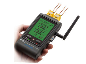 R90FC-G gsm 4-channle thermocouple data logger