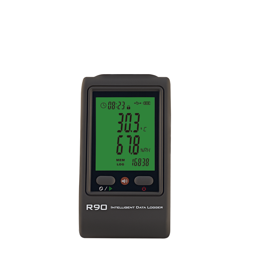 R90TH-U temperature humidity logger