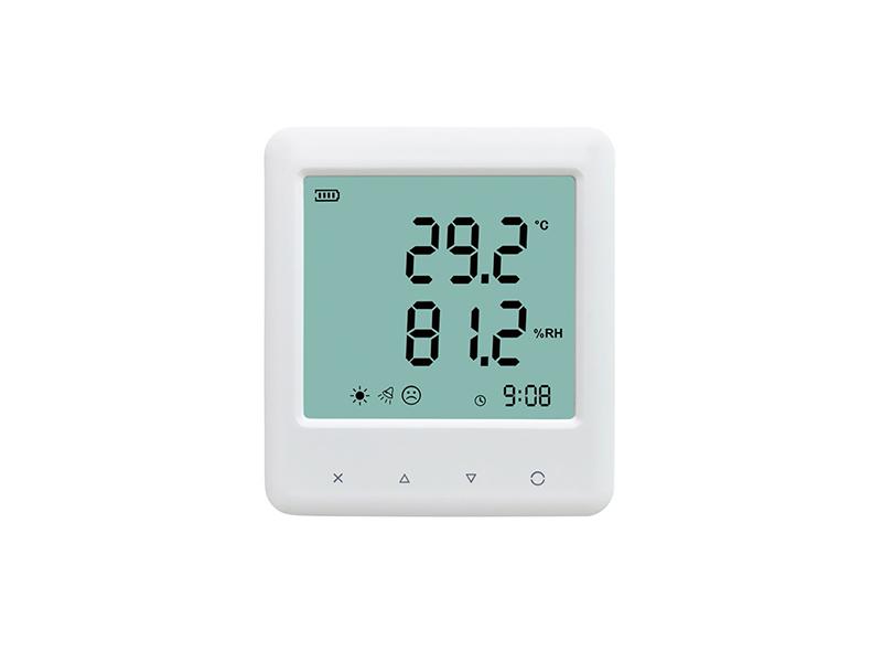 YEM-20 thermo-hygrometer with sound light alarm