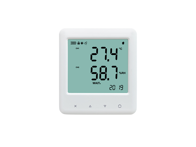 YEM-20L temperature humidity data logger with large LCD display