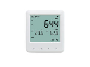 YEM-40L 3-in-1 CO2 carbon dioxide temperature humidity data logger